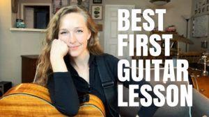 best first guitar lesson 2020 Key of G